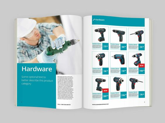 in catalogue giá rẻ tphcm